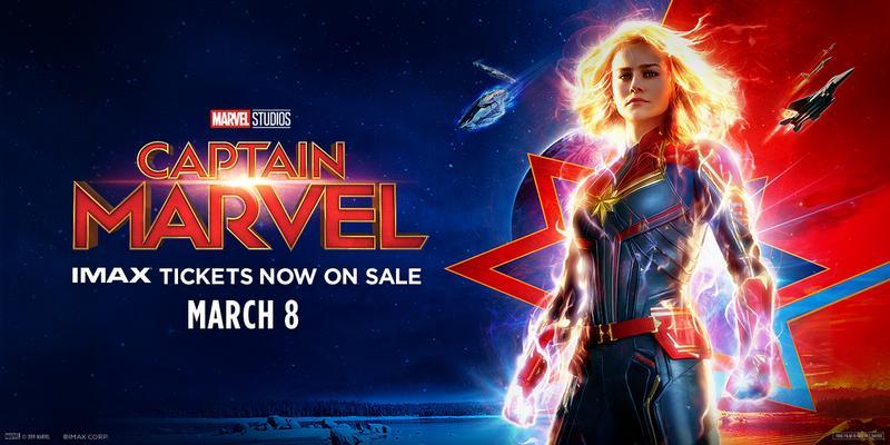 Captain Marvel Maryland Science Center